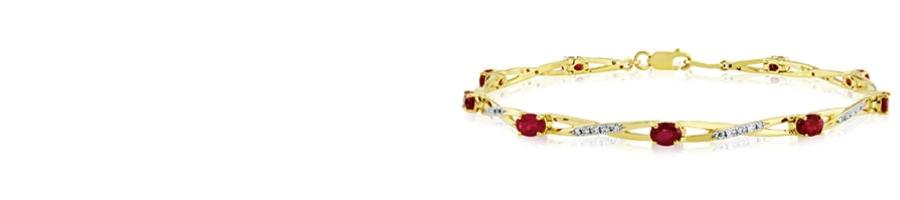 9ct Gold Precious Stones