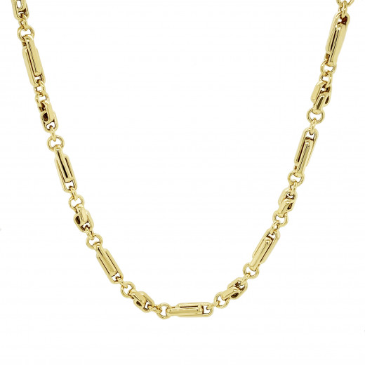 9ct Yellow Gold Long & Short Knot Necklace