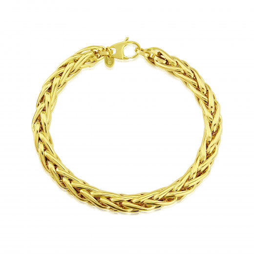 9ct Yellow Gold Palmier Bracelet