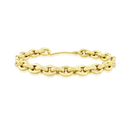 9ct Yellow Gold Bangle