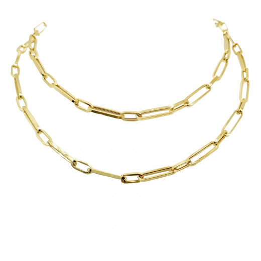 9ct Yellow Gold Links Necklace