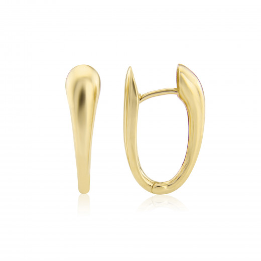 9ct Yellow Gold Tapered Earrings