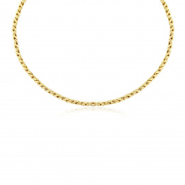 9ct Solid Yellow Gold Necklace