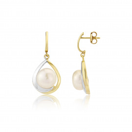 9ct Yellow Gold Tear Drop Earrings