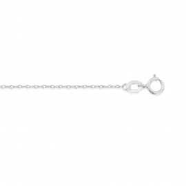 9ct White Gold Prince Of Wales Chain
