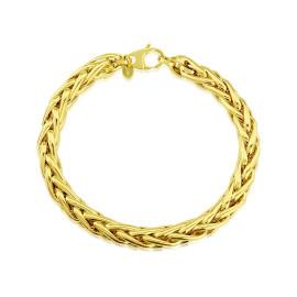 9ct Yellow Gold Palmier Bracelet