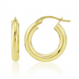 9ct Yellow Gold Extra Small Hoop Earrings