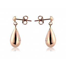 9ct Rose Gold Drop Earrings