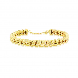 9ct Yellow Gold Chain Bangle