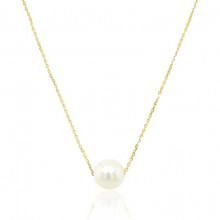 9ct Yellow Gold Culture Pearl Necklace