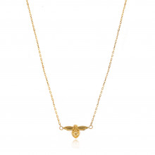 9ct Yellow Gold Bee Necklace