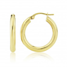9ct Yellow Gold Small Hoop Earrings