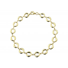9ct Yellow Gold Oval Link Bracelet