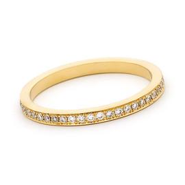 18ct Yellow Gold Diamond Full Eternity Ring