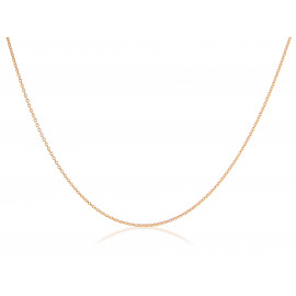 9ct Rose Gold Trace Chain