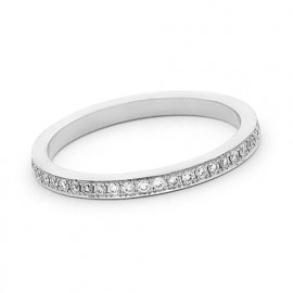 18ct White Gold Diamond Full Eternity Ring