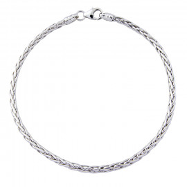 9ct White Gold Palmier Bracelet