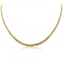 9ct Yellow Gold Palmier Necklace
